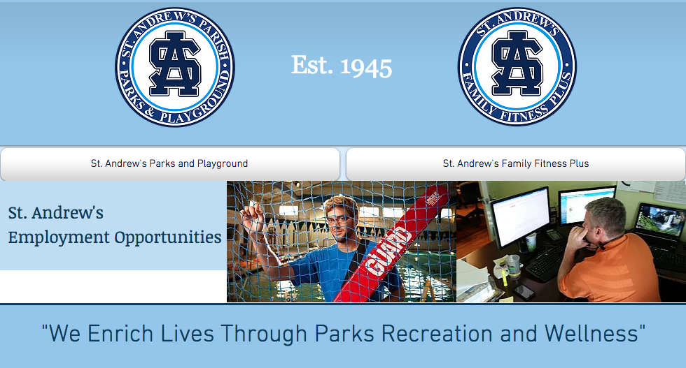 St. Andrew's Parks & Playground Volunteer